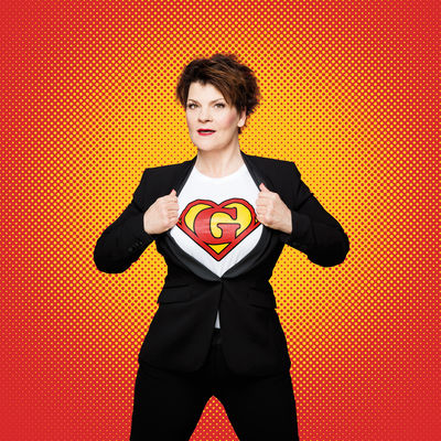 Gayle Tufts Superwoman