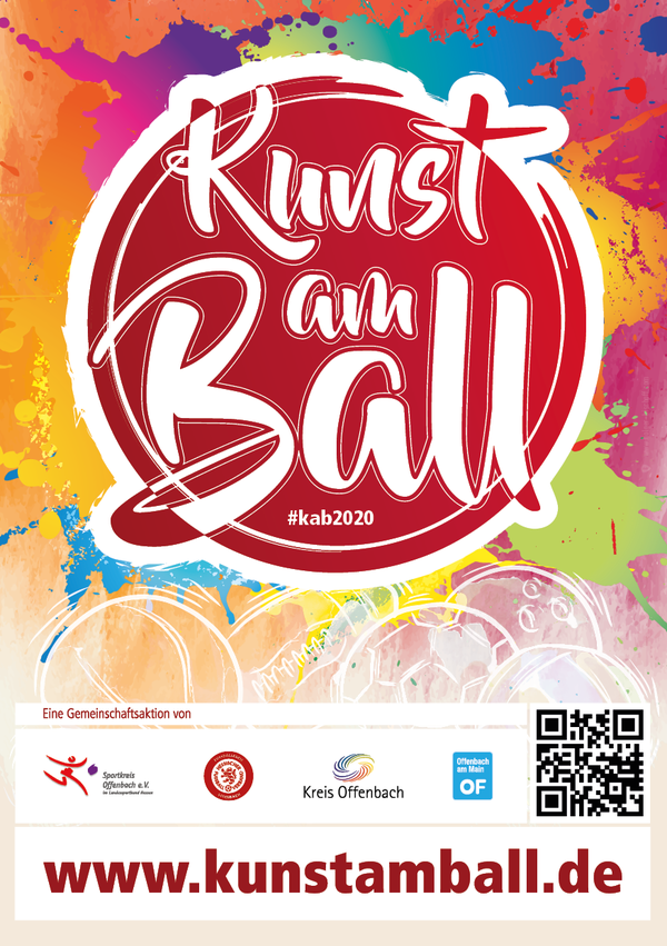 Kunst am Ball - Flyer